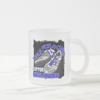 Rectal Cancer Walk For A Cure Shoes Coffee Mug
