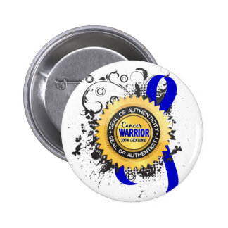 Rectal Cancer Warrior 23 Pinback Buttons