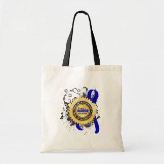 rectal cancer bags handbags zazzle