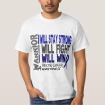 Rectal Cancer Warrior T-Shirt