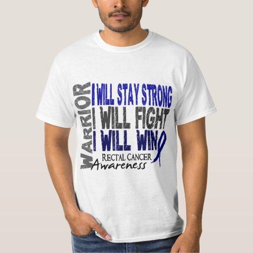 Rectal Cancer Warrior Tee Shirt