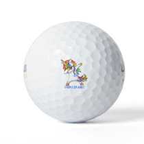 Rectal Cancer Warrior Unbreakable Golf Balls