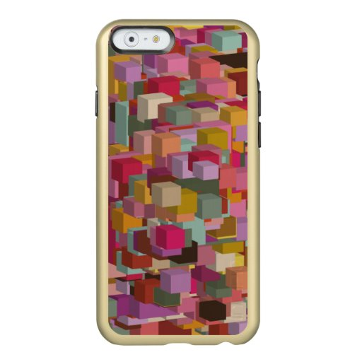 Rectangle Block And Stripe Design In Multicolore Incipio Feather Shine iPhone 6 Case
