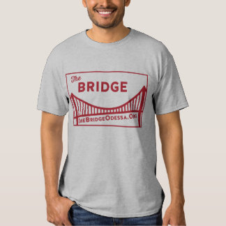Rectangle Bridge Logo with website  dos T-shirts
