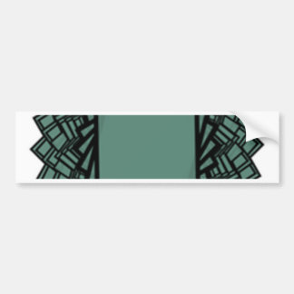 rectangle bumper sticker