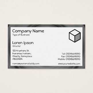 Rectangle - Fast Car Business Card