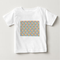 rectangle pattern baby T-Shirt