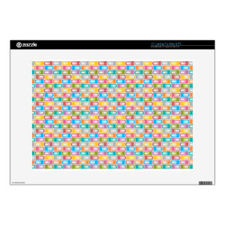 "rectangle pattern skins for 15"" laptops"