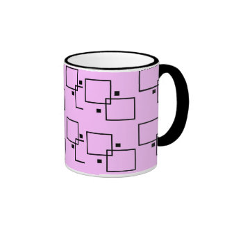 Rectangle Pink Mug