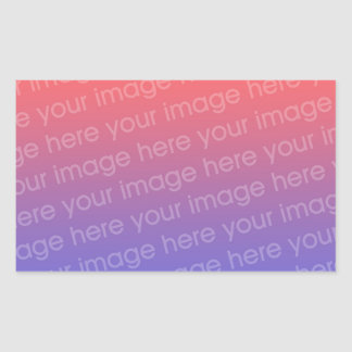 Rectangle Sticker Photo 4 By 3