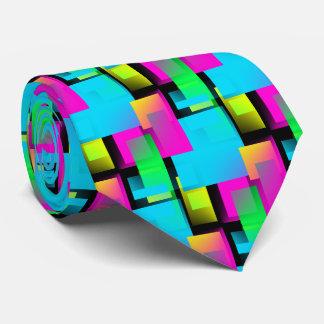 Rectangled Neck Tie