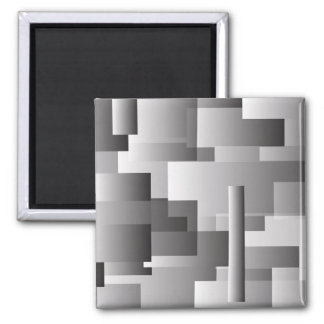 Rectangles 2 Inch Square Magnet