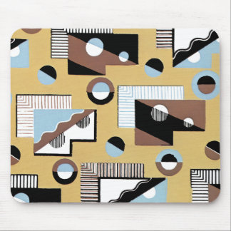 Rectangles Circles and Lines Mouse Pad