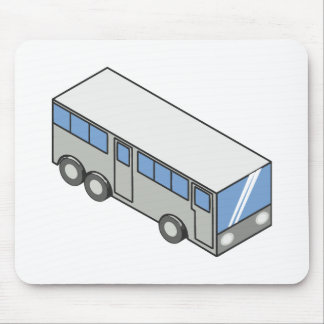 Rectangular bus mouse pad