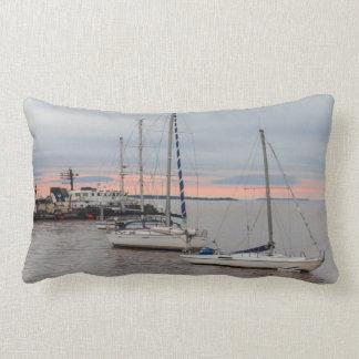 Rectangular cushion Marina and Bateaux #1