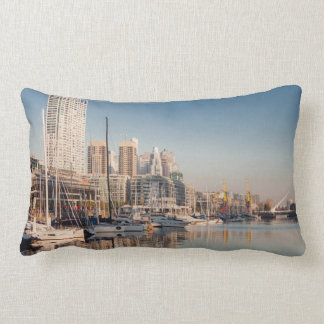 Rectangular cushion Marina and Bateaux #2