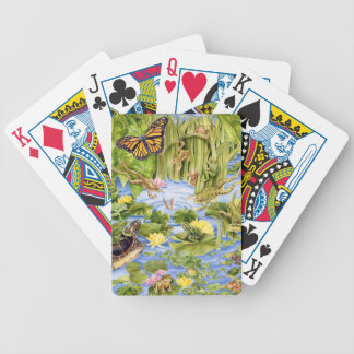 Rectangular Frog Bicycle Playing Cards