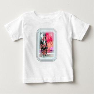 Rectangular Glass Frame Baby T-Shirt