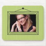 Rectangular handdrawn picture frame mousepad