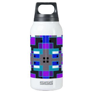 Rectangular Kaleidoscope Thermos Bottle