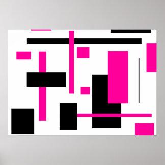 Rectangular Pattern 25 Poster