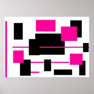 Rectangular Pattern 27 Poster