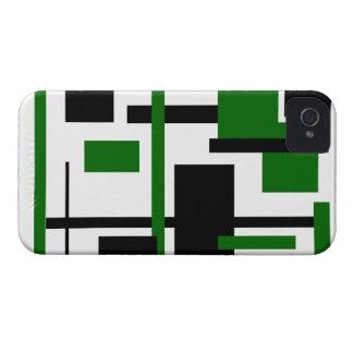 Rectangular Pattern 39 iPhone 4 Case-Mate Cases
