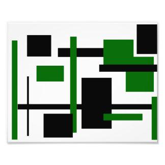 Rectangular Pattern 39 Photographic Print