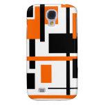 Rectangular Pattern 48 Galaxy S4 Case