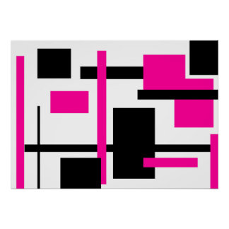 Rectangular Pattern 57 Posters
