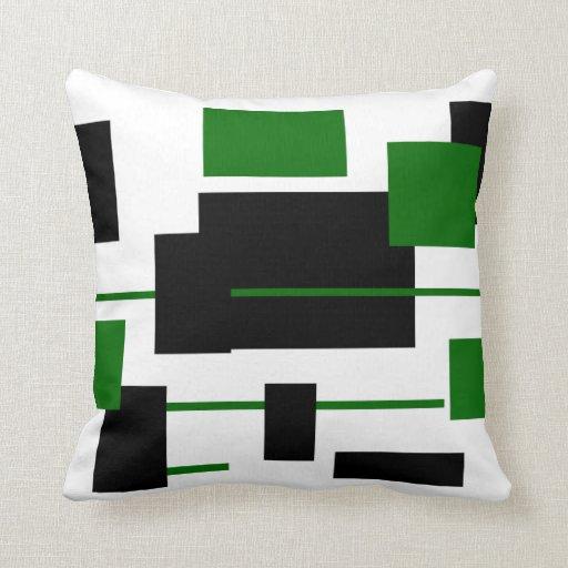 Rectangular Pattern 9 Throw Pillows