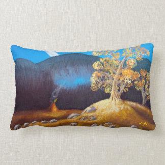 Rectangular Pillow Autumn Indian Tepee