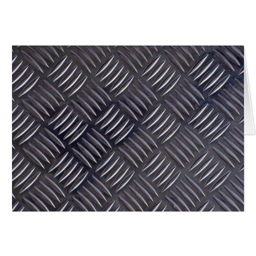 Rectangular plate texture greeting card