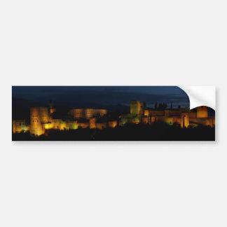 Rectangular sticker, Alhambra, Granada