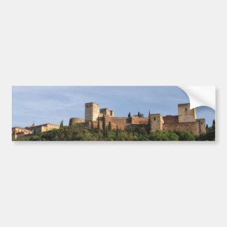 Rectangular sticker Alhambra Granada