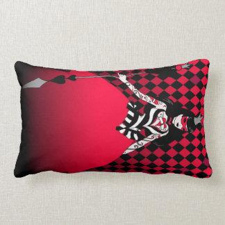 Rectangular throw pillow Queen of Hearts