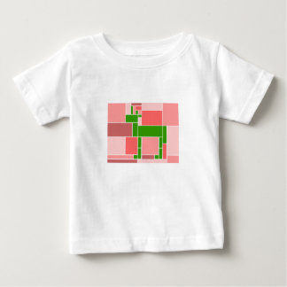 Rectangular Unicorn Baby T-Shirt