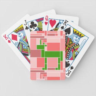 Rectangular Unicorn Bicycle Playing Cards