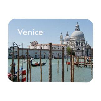 Rectangular Venice magnet with text