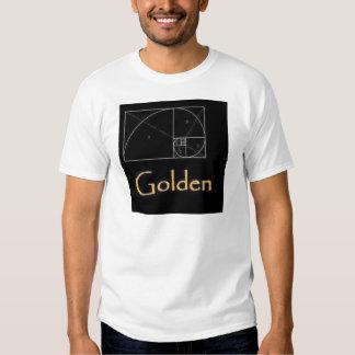 rectángulo de oro remera