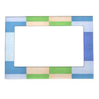 Rectángulos en colores pastel de Corkboard Marcos Magneticos
