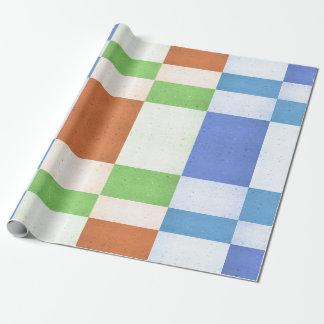 Rectángulos en colores pastel de Corkboard Papel De Regalo