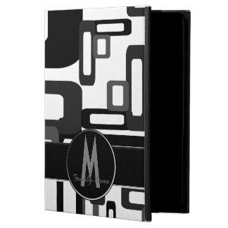Rectángulos estilizados grises/negro