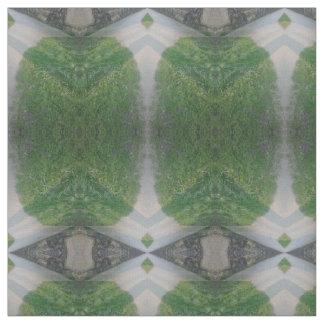 rectángulos verdes con el modelo gris de los telas