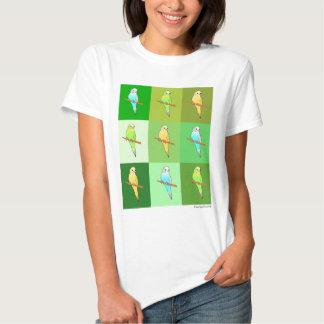 Rectángulos verdes del Parakeet Playera
