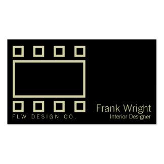Rectángulos y cuadrados de Wright Tarjetas De Visita