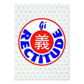 Rectitude Card