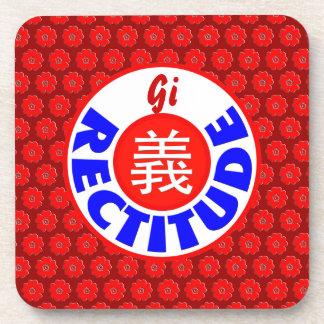 Rectitude - Gi Drink Coaster