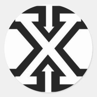 recto-borde-xxx-wp pegatina redonda