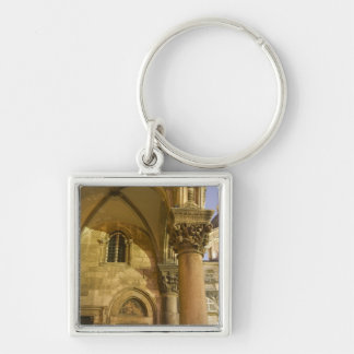 Rector's Palace Arches with Dubrovnik Cathedral Keychain